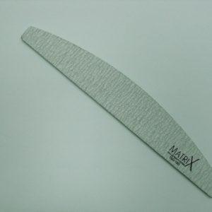 MX-F1205 Half moon zebra nail file 150/150